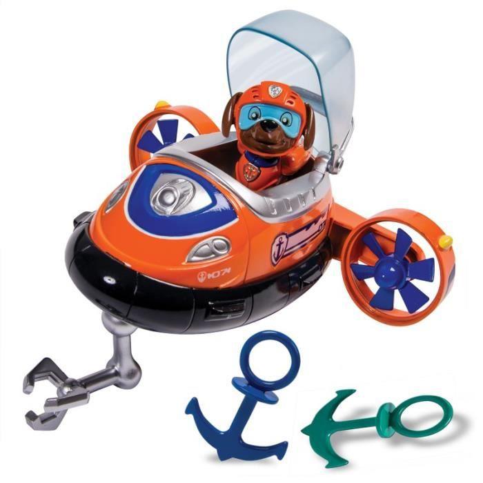 Pat patrouille le sous marin jouet de bain zuma 39 s achat vente figurine personnage cdiscount - Jouet pat patrouille fille ...