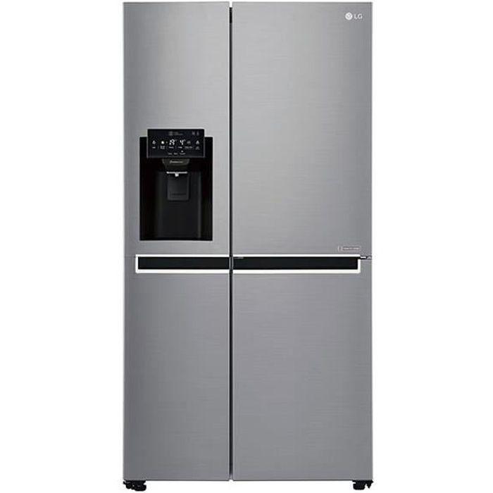 RÉFRIGÉRATEUR AMÉRICAIN LG GSL760PZXV-Réfrigérateur américain-601L (405 +